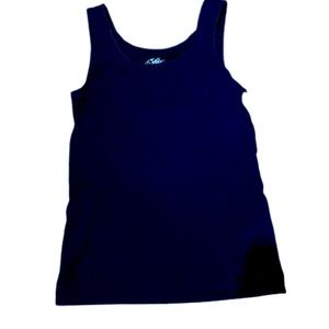 Justice size 14 black tank top
